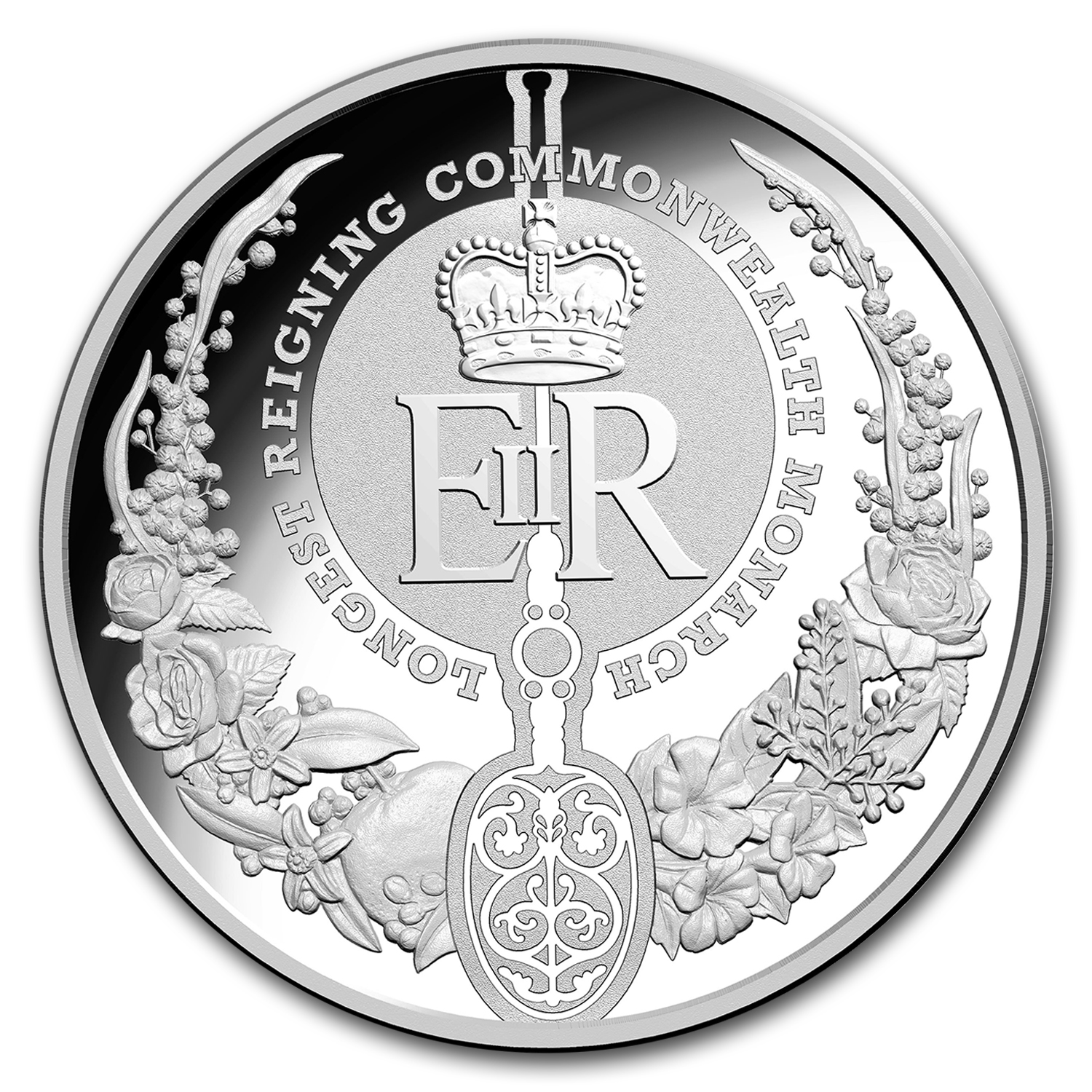 2015 Australia Silver $5 Longest Reigning Commonwealth Monarch